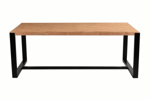Casca-table a manger-Metal Noir-1