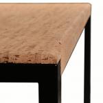 Casca-table a manger-Metal Noir-2