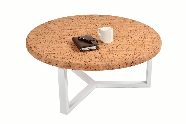 table basse ronde design en m tal et li ge pur urban. Black Bedroom Furniture Sets. Home Design Ideas