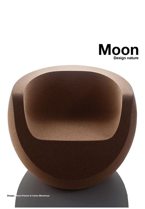 Découvrez tous les avantages du liège, le matériau principal de ce fauteuil design Moon