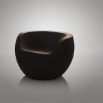 Moon Chaise Design - Liège Foncé 1