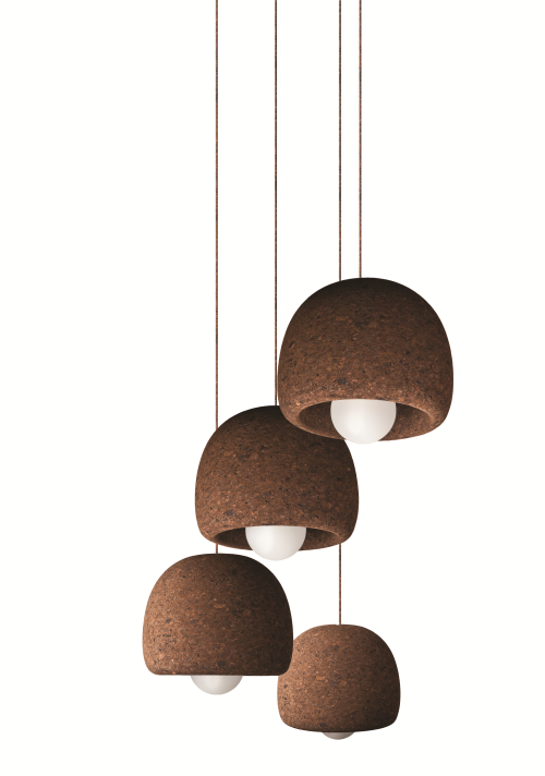 Découvrez tous les avantages du liège, le matériau principal utilisé pour produire cette suspension luminaire design