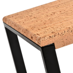 Table d'appoint carree-Pure Metal Noir-3