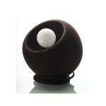Unieke Bolvormige tafellamp - Donkere Kurk 1